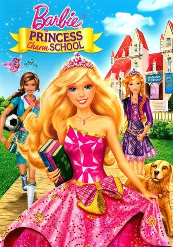 Barbie: Princess Charm School [DVD] [2011]