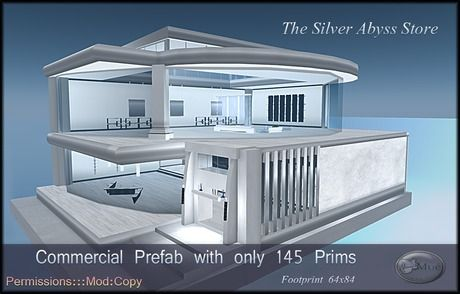 The Silver Abyss Mesh Prefab