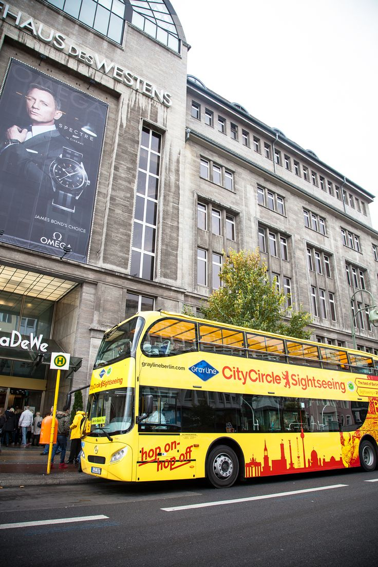 Wanna go Shopping in Berlin?  KaDeWe is the largest department store on the European continent!