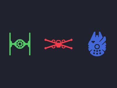 Star Wars Ship Icons