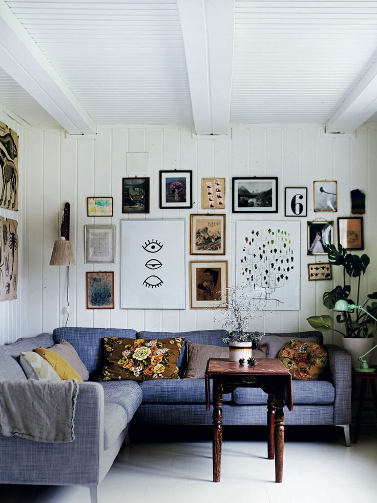 Gallery wall Interior styling for A/W with Selina Lake's Winter Living