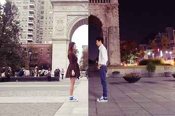 This Couple Made Their Long-Distance Relationship Into A Shared Photo Project