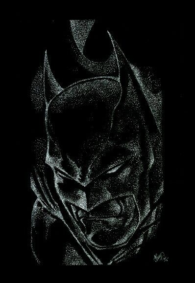 My Bat Pointilism