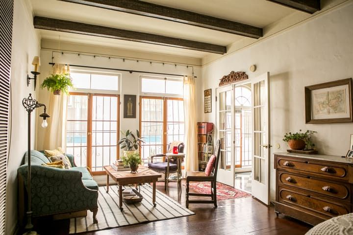 House Tour: A Small, Old World-Inspired LA Studio | Apartment Therapy