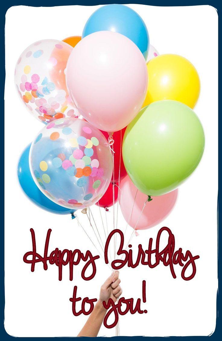 Best Birthday Quotes : Happy Birthday Balloons | Birthday ...