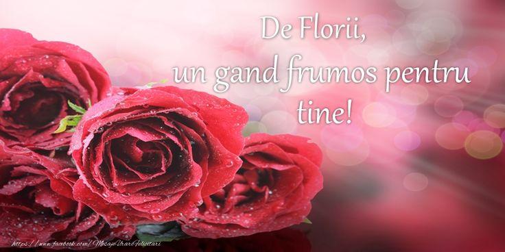 De Florii, un gand frumos pentru tine!