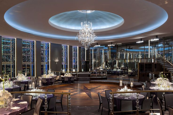 12 Gorgeous Sites New Yorkers Rarely Visit (& How To Get In)  #refinery29  http://www.refinery29.com/nyc-secret-spots#slide-6  Rainbow RoomPerched high on the 65th floor of Rockefeller Center, the landmarked Rainbow Room — built by John D. Rockefeller in 1934 with the aim of making it a nightclub to surpass all others — recently unveiled a fabulous restoration.The impressive space is famous for its rotating dance floor and glitzy crystal chandelier.