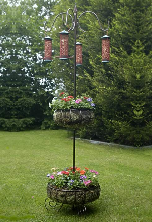 humming bird feeders would be good too