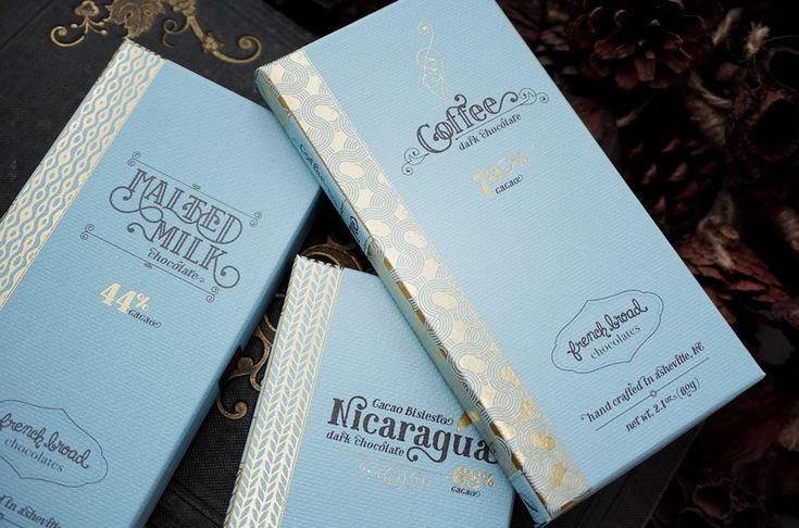 French Broad Chocolates ( U.S.A. ) CHOCOLATE BARS www.lancah.com