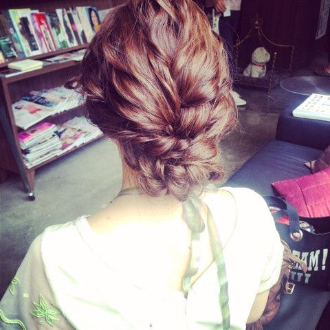 ウエディングヘア♡ の画像|My Style