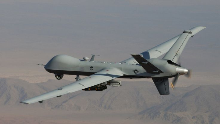 The General Atomics MQ-1 Predator is an unmanned aerial vehicle (UAV) used primarily by the United States Air Force (USAF) and Central Intelligence Agency (CIA). The U.S. has carried out hundreds of airstrikes over Pakistan using drones, raising questions about the nature of aerial combat. The strikes have led to civilian casualties and inflamed tensions between the two countries. The Air Force now recruits more pilots for unmanned aircraft than fighter and bomber pilots combined.