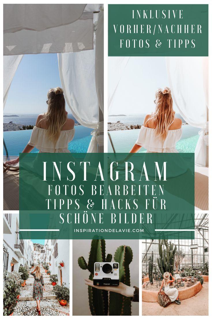 Instagram Fotos bearbeiten – Vorher und Nachher Fotos und Tipps