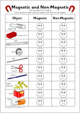 Magnetic and non-magnetic sorting record charts (SB7407) - SparkleBox
