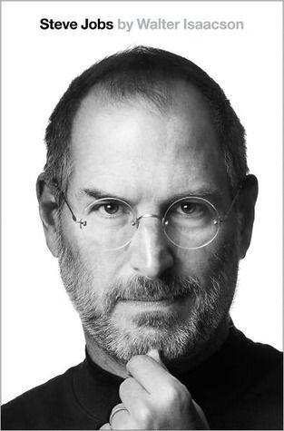 Steve Jobs by Walter Isaacson. 920JOB. Not  for anyone who likes 'skinny books' but definitely for those with an interest in Steve Jobs and the Apple phenomena.
