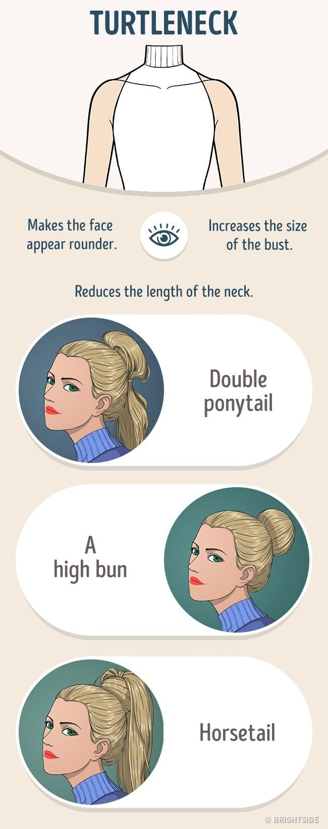 How toCorrectly Combine Your Hairstyle and the Neckline onYour Dress