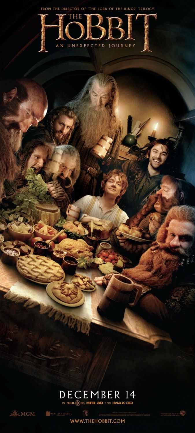 Happy birthday to me--this is where I shall be!! The Geeky Nerfherder: More New 'The Hobbit' Posters