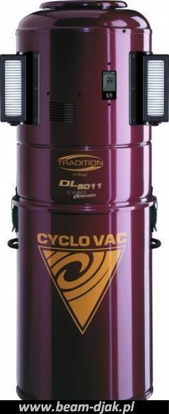 Odkurzacz Centralny CYCLOVAC DL 5010-5011.