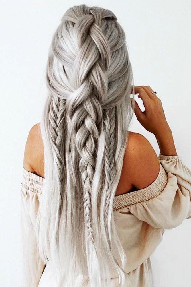 Beste Sammlung Von Zöpfen Frisuren Für Lange Dicke Haare Diese