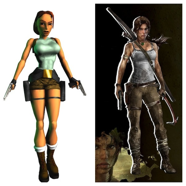 Mesmo depois da mamoplastia redutora, Lara Croft continua linda