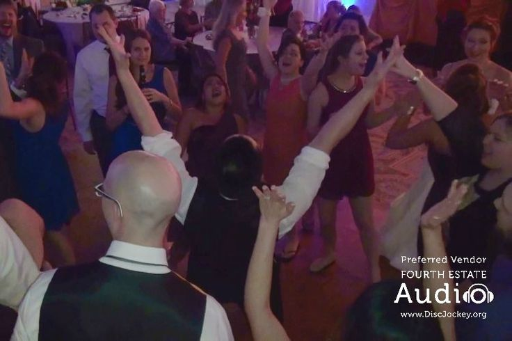 The dance floor jumped from the first note of music, with a Chicago wedding DJ pro from Fourth Estate Audio spinning the hits. Call (630) 654-4440, and this can be YOUR reception.  #chicagodj  #chicagoweddingdj