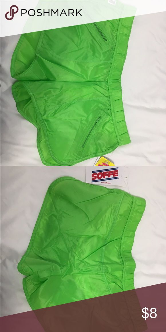 Soffe Lime Green Sports Shorts Size Small Soffe Sports Shorts in Like Green Size Small. New with Tags. Never been worn Soffe Shorts