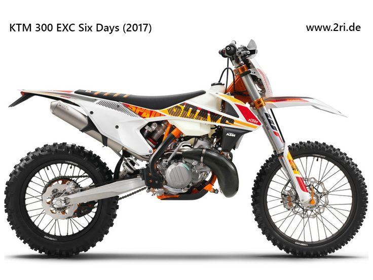 """KTM 300 EXC """"Six Days"""" (2017)"""