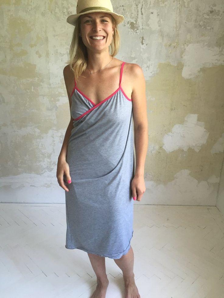 NANA summer dress - grey/pink