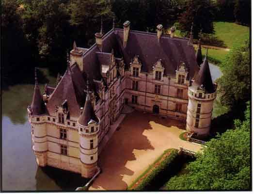 Azay le Rideau Castle. Didn't get to see this one while living in France, but looks beautiful