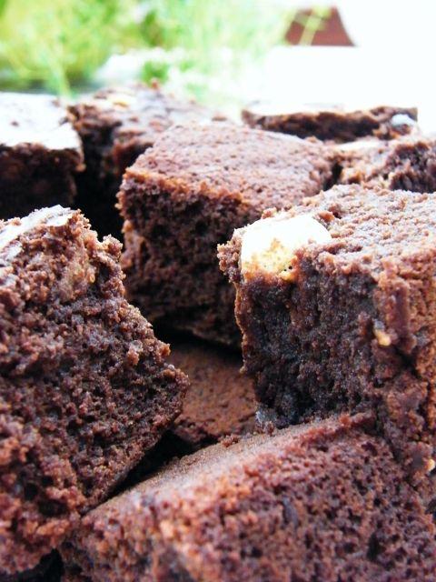 malteser brownies