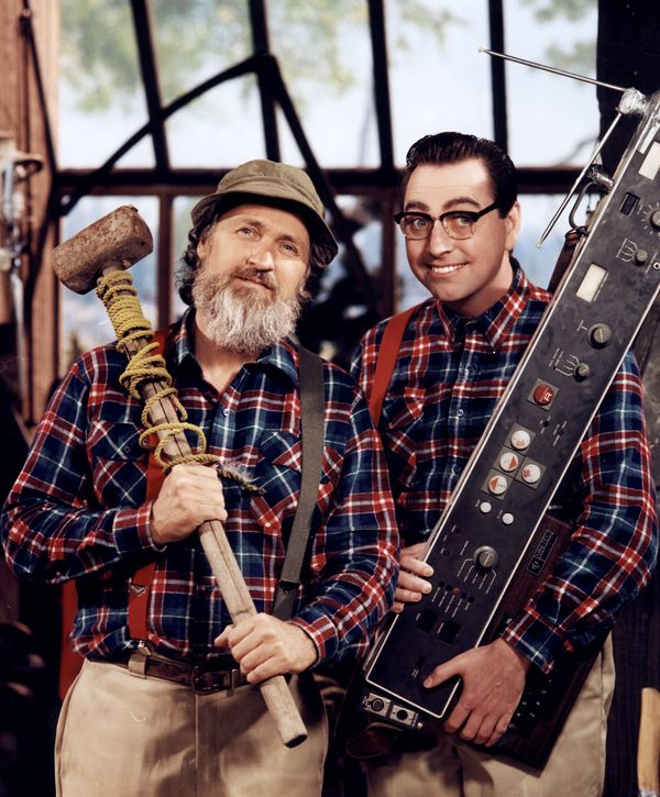 """""""The Red Green Show"""" from Canada, seen in PBS here, is a huge family favorite."""