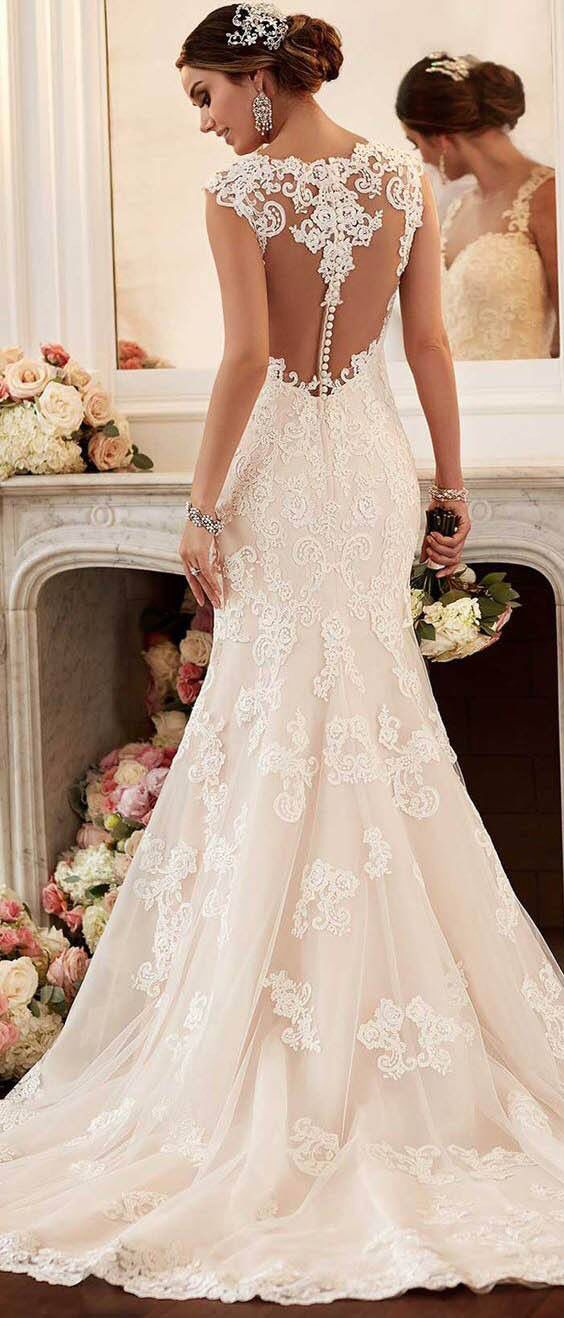 find this pin and more on pink wedding dresses