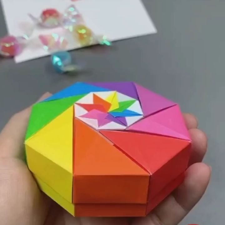 62) How To Make A Paper INFINITY CUBE - Easy Method - YouTube ... | 720x720