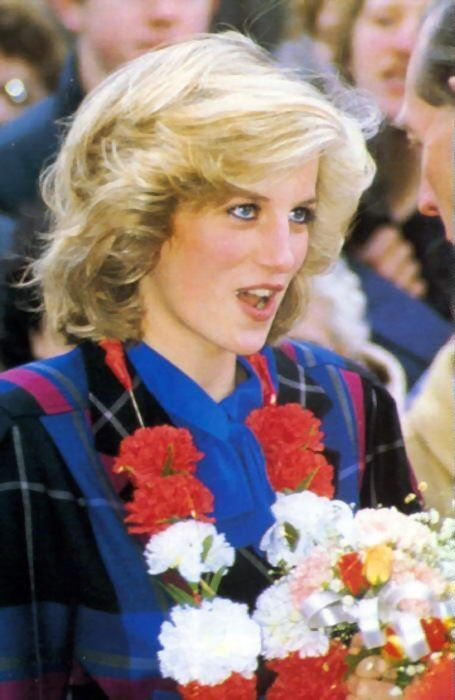 November 23, 1984: Princess Diana visits the Victoria Centre For Youth in Wellingborough, Northamptonshire.