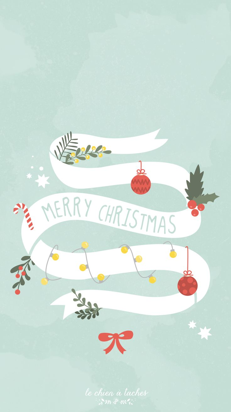 Merry Christmas ★ Download more Christmas iPhone Wallpapers at @prettywallpaper