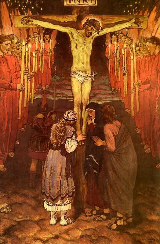Józef Mehoffer, Station 12, Jesus Dies on the Cross: