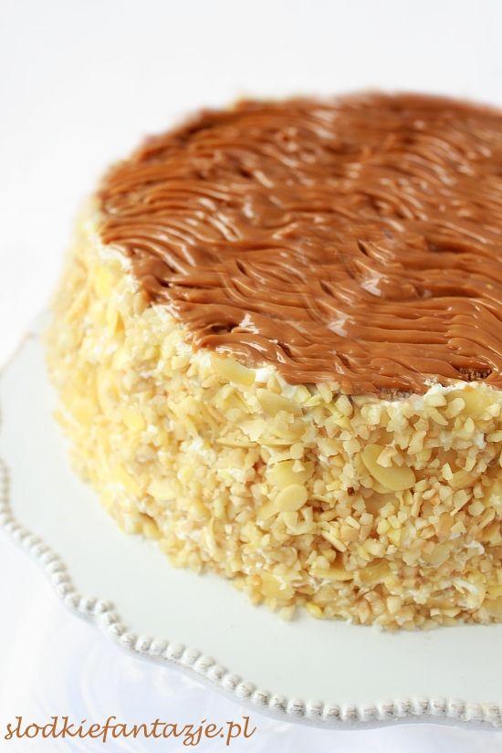 Tort kajmakowy / dulche de leche cake