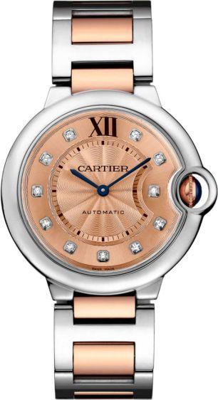 263df34f0ea Barato replica Cartier Ballon Bleu de Cartier 36 mm WE902054 para la venta