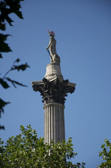 120.)  There's Nelson's Column at London's Trafalgar Square...  @visitlondon