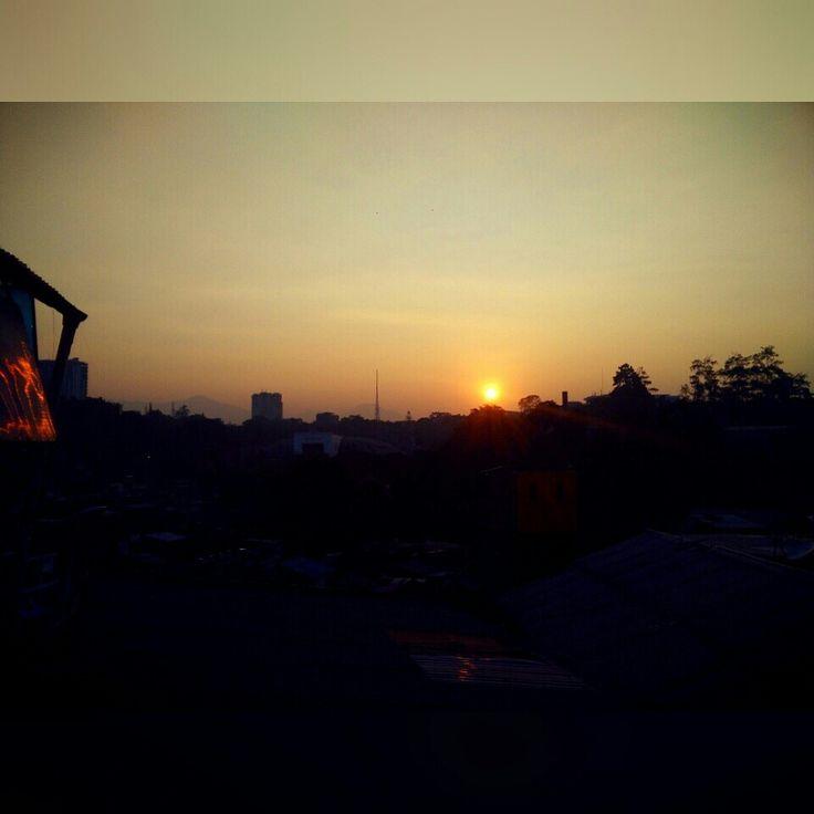the sun coming :)