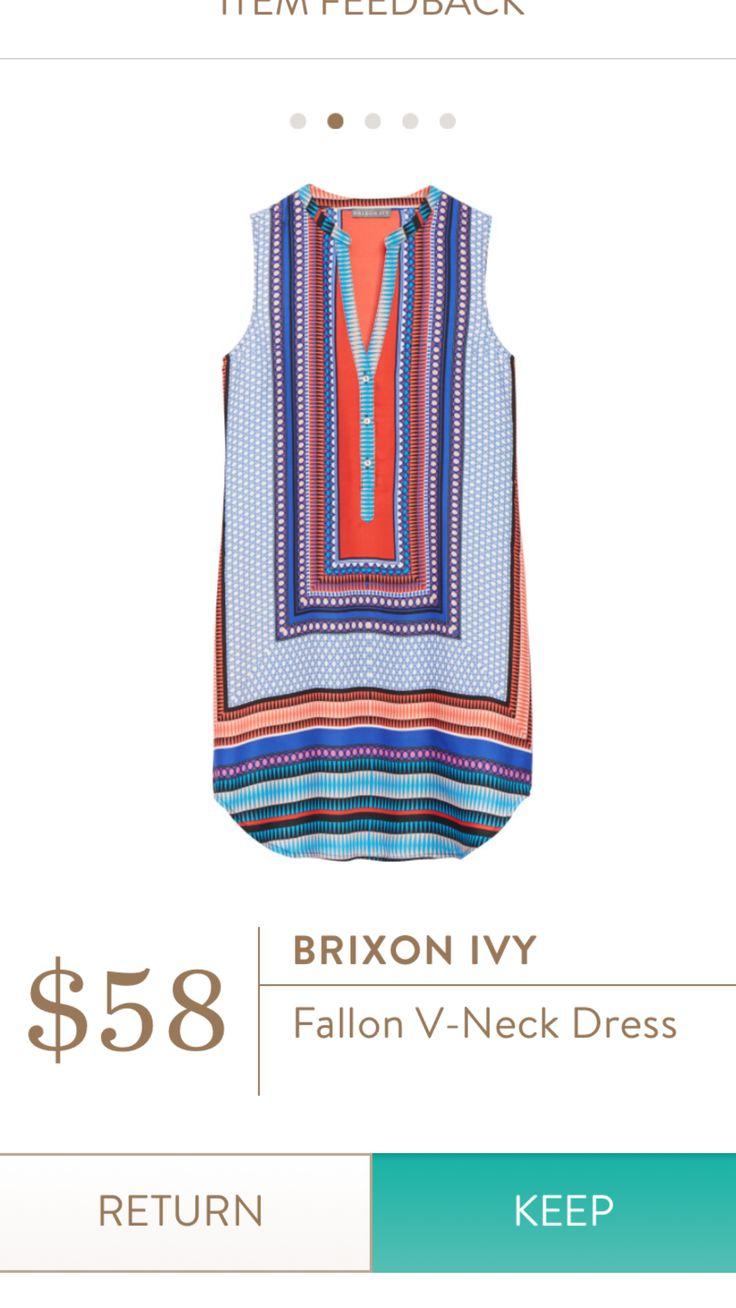 Brixon Ivy Fallon V-neck dress
