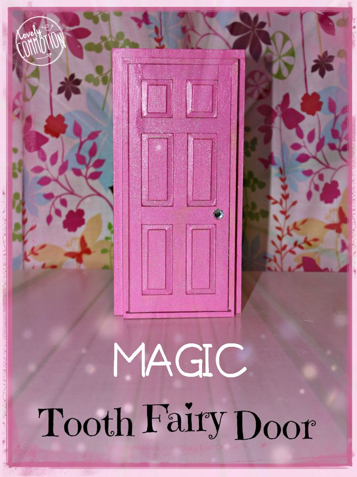 Tooth fairy door tooth fairy ideas pinterest fairy for Idea behind fairy doors