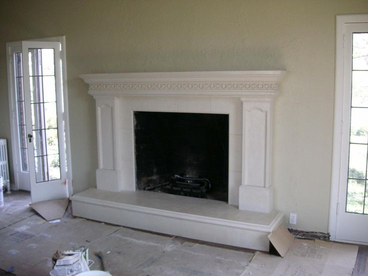Art 12 Fireplace Mantel With Inlay Legs Acanthus Leaf