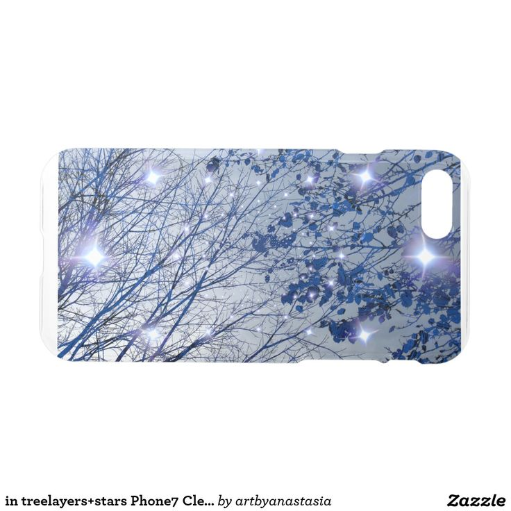 in treelayers+stars Phone7 Clearly™ Deflector Case