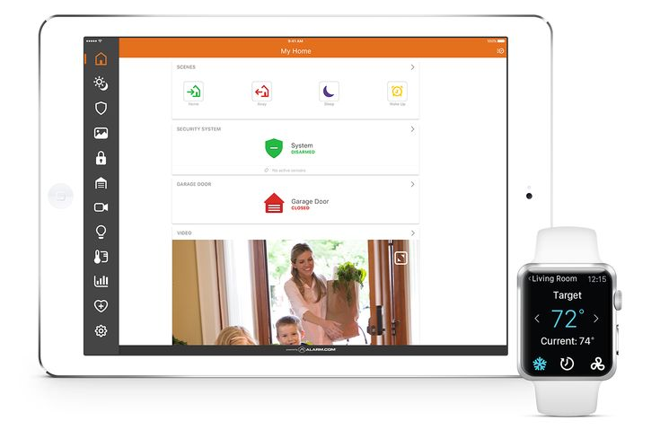 About Alarm.com | Interactive Security Systems, Home Alarm Monitoring