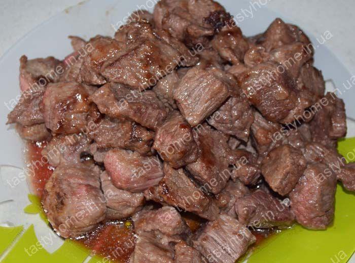 Говядина по-бургундски (Буф Бургиньон) - говядина, тушеная в красном вине. Пошаговый рецепт с фото. Французская кухня.