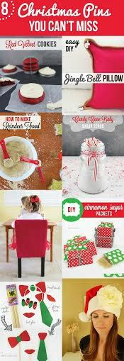 Check out the most popular Christmas pins that YOU CAN'T MISS!  Crafts, recipes, Xmas gifts, decor, kids activities, and more!