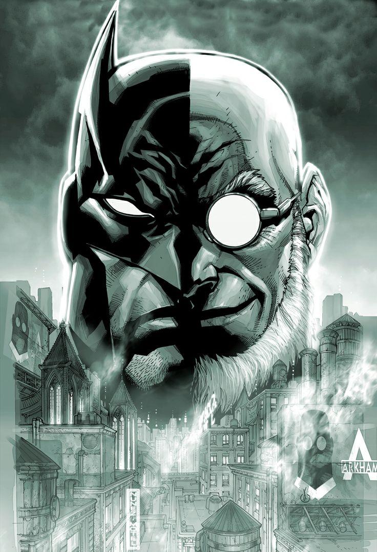 Hugo Strange Batman Villain Bruce wayne/Batman Pinterest