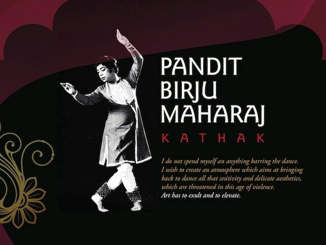 Pandit Birju Maharaj. Wise words!