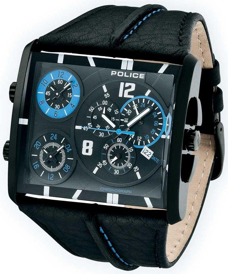 Police Uhr Armbanduhr P13497JSB-02A Tripod Chrono schwarz blau Leder    http://www.uhren-versand-herne.de/police-uhr-armbanduhr-p13497jsb-02a-tripod-chrono-schwarz-blau-leder.html