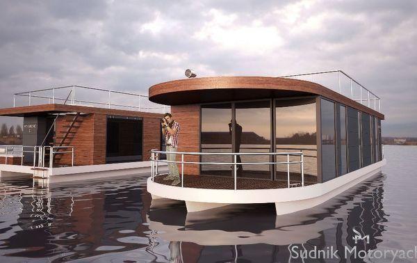 Sudnik Motoryachts Htr Krono Ii Luxus Hausboo Hausboot Hausboot Kaufen Wasserhaus